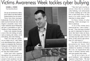 Victims Awareness Week tackles cyber bullying april 24 2015 v2
