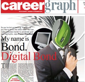 The name's Bond, Digital Bond ! - The Ethical Hacker guide to a job