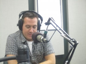 Terry on the Radio