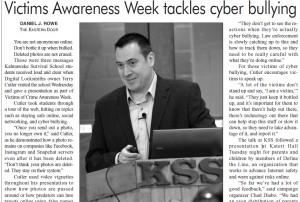 Victims Awareness Week tackles cyber bullying april 24 2015 v2